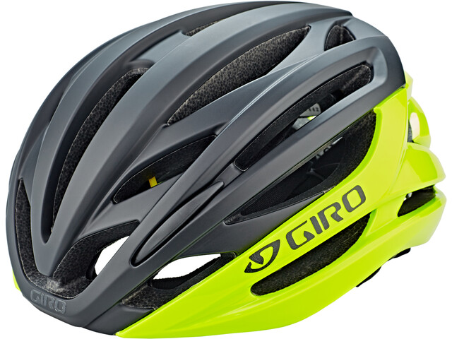 Giro Syntax MIPS Helmet highlight yellow/black